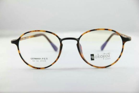 Okokoz Glass Optical glasses Germany P.E.S OZ - 1012 Okokoz Stripe Frame