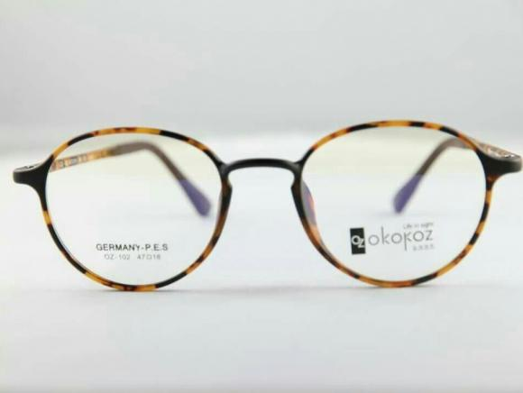 Okokoz Glass Optical glasses Germany P.E.S OZ - 1012 Okokoz Stripe Frame