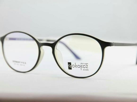Okokoz Glass Optical glasses Germany P.E.S OZ - 103 Okokoz Black Frame