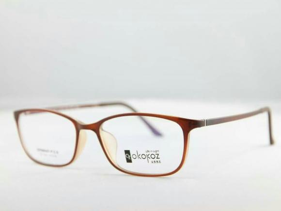 Okokoz Glass Optical glasses Germany P.E.S OZ - 104 Okokoz Brown Frame