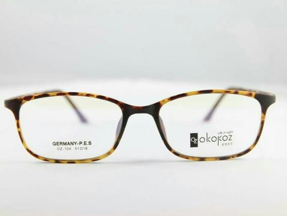 Okokoz Glass Optical glasses Germany P.E.S OZ - 104 Okokoz Stripe Frame