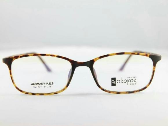 Okokoz Glass Optical glasses Germany P.E.S OZ - 104 Okokoz Stripe Frame