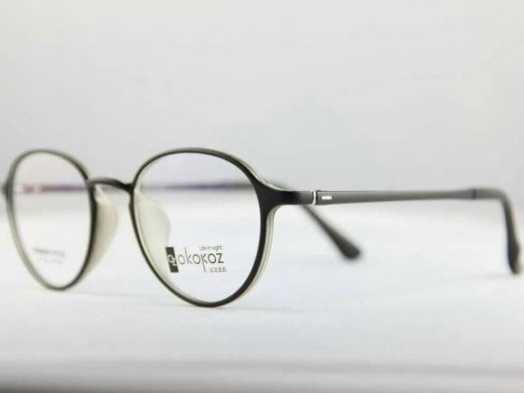Okokoz Glass Optical glasses Germany P.E.S OZ - 102 Okokoz Black Fram